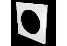 Накладка торцевая пластик 150*150, для воздуховода D=100(10НКП), 74.00 р., Фланцы, накладки, площадки, обр.клапана