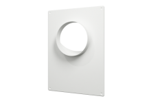 Площадка торцевая пластиковая 180*250, фланец D=100(100ПТП), 147.00 р., Фланцы, накладки, площадки, обр.клапана