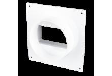 Соединитель круглых каналов с накладной пластиной D=100(10SKNP), 126.00 р., Соединители (ниппель, муфта), Переходы, Адапторы