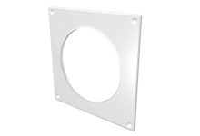 Накладка торцевая пластик 150*150, для воздуховода D=100(10НКП), 70.00 р., Фланцы, накладки, площадки, обр.клапана
