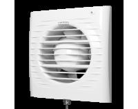 Вентилятор осевой вытяжной с обратным клапаном, электронным таймером Ф125 (5С ЕТ)